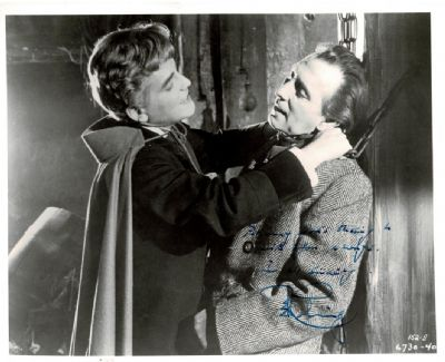 Peter Cushing Autograph Signed Photo - The Brides of Dracula